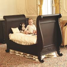 Convertible Sleigh Crib Copenhagen Crib Bedding Custom Colors Available Featured At