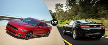 ford mustang chevy camaro ford mustang vs 2016 chevy camaro