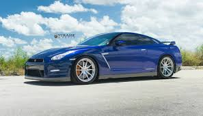 nissan gtr liberty walk blue blue pearl nissan gt r with brushed aluminum strasse wheels gtspirit