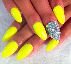 vibrant yellow nail designs for summer hairstyles nail art