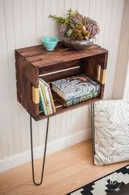 Wooden Crate Shelf Diy by Apple Crate Desk Projects To Try Pinterest Crate Desk Apple