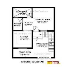 30 25 u003d 750 sft north face house plan gharexpert com