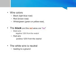 house wiring color white black wiring diagram simonand