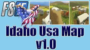 Idaho Map Usa by Farming Simulator 15 U2013 Idaho Usa Map V1 0 Youtube