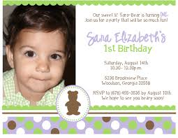 cute first birthday invitation wording image collections