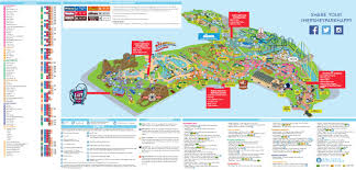 cedar fair parks map travel eric webb page 2