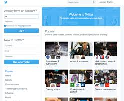 layout of twitter page twitter is experimenting with a major homepage design overhaul