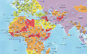 middle east map kazakhstan uae is the safest country to visit in the middle east says