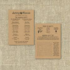 kraft paper wedding programs 33 best programs extras images on wedding designs