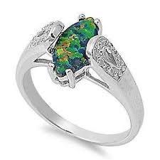 ebay rings opal images Australian opal ring ebay JPG