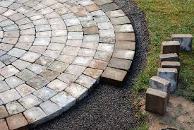 How To Lay A Patio With Pavers by Landscaping Blocks How To Install How To Install Pavers Burnco