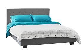 reagan fabric linen wooden bed frame temple u0026 webster