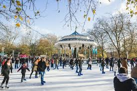 amazing sculptures on display at hyde park winter