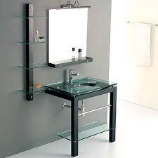 Bathroom Vanities With Glass Tops Bathroom Vanities Sink Vanity Options On Sale Glass Bathroom