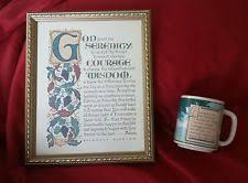 serenity prayer mug press serenity prayer mug ebay