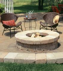 Cool Firepit by Warming Cool Nights Add A Belgard Fire Feature Outdoor Living