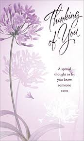 thinking of you card any occasion religious christian 20817