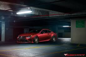 bronze lexus lexus rc350 f sport dressed in red with the matte bronze gloss