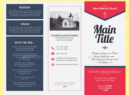 brochure 3 fold template psd 20 church brochure templates psd indesign desiznworld tri