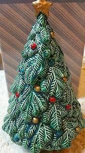 vintage avon christmas tree pomander in box home decor