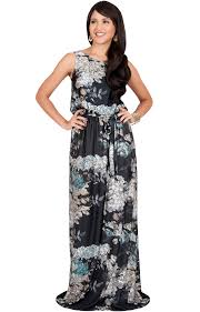 summer maxi dresses laurel sleeveless floral casual summer maxi dress