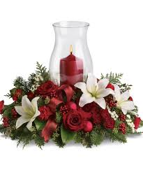 christmas centerpieces with candles 12311
