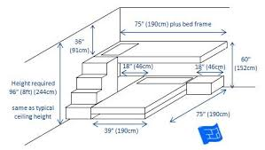 Bunk Bed Plans With Stairs Appealing Bunk Bed Plans With Stairs Bunk Bed Plans With Stairs