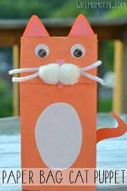 25 unique paper bag crafts ideas on paper bag puppets
