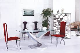 Online Buy Wholesale Glass Dining Table Chairs From China Glass - Contemporary glass dining table and chairs