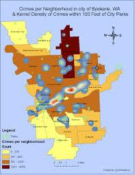 Spokane Washington Map My Gis Portfolio