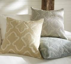 brielle crewel embroidered pillow cover pottery barn