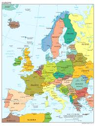 Map Of Greece With Cities by Map Of Europe With Cities World Map