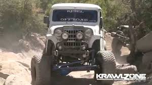 willys jeep truck diesel brothers built willys wagon in action dailycrawl youtube