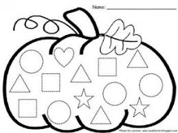 shape trace worksheet for preschool kids crafts and worksheets