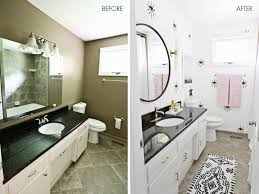 Bathroom Before And After Photos Laura U0027s Guest Bathroom Before After U2013 A Beautiful Mess