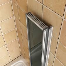 4 folds and 5 folds chrome folding bath shower screen glass panel item specifics
