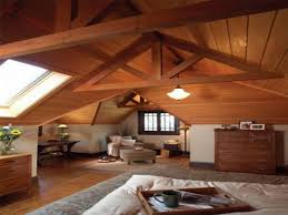 marvelous open floors attic bedroom plans with wooden sloped