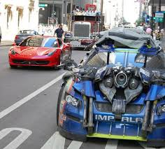ferrari transformer ferrari 458 italia spotted on the set of transformers 3 movie