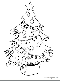 113 Free Christmas Tree Coloring Pages For The Kids Tree Coloring Pages