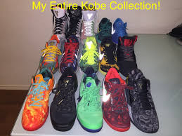 my bryant shoe collection