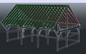 Truss Spacing Pole Barn 30 X 20 Three Bay Pole Barn Carriage Shed By Mainiac Matt