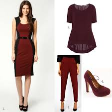what color shoes to wear with a burgundy dress oasis amor fashion