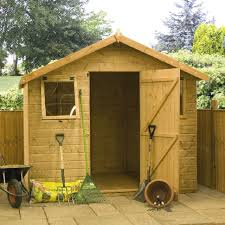 Shiplap Sheds 6 X 4 Mercia Premium Shiplap Shed With Single Door 6 X 8 Elbec Garden