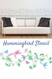88 best topiary tree stencils images on pinterest bird stencil add some colour and life to your home with stencils for walls beautiful hummingbird stencil