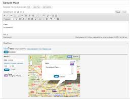 G Maps Mappress Easy Google Maps U2014 Wordpress Plugins