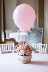 air balloon wedding centerpiece my creations pinterest