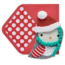 papyrus owl felt ornament greeting card target