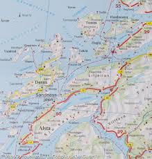 Map Of Northern Ohio by Map Of Northern Norway 3 Around Narvik Freytag U0026 Berndt