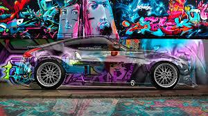 jdm hd wallpaper 1920x1080 backgrounds nissan z jdm side crystal graffiti car el tony with