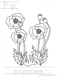 poppy sheets kids coloring